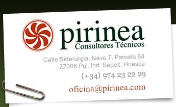 Pirinea, tarjeta